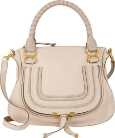 Chloé Marcie Medium Satchel with Strap at Barneys New York