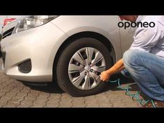 Tyre pressure - how to measure? ● Hints from Oponeo™ - YouTube