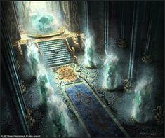 Mystic throne