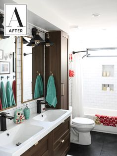 Before and After: An '80s Bathroom Gets a Classic Update