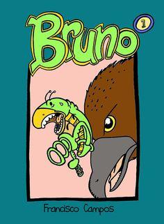 "Portada del #comic #digital ""Bruno y la Liga de Súper Insectos"" en ComicSquare #comicsquare obra de Francisco Campos (a.k.a. Falkons645). Un heroico saltamontes en busca de nuevos insectos para su equipo de superhéroes - http://www.comicsquare.com/es/comic/bruno-y-la-liga-de-super-insectos-12"