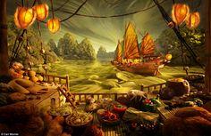 Landscape - Carl Warner