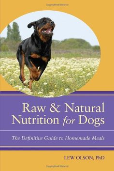Raw and Natural Nutrition for Dogs: The Definitive Guide to Homemade Meals [Paperback] Lew Olson (Author) Dog Nutrition, Nutrition Guide, Health And Nutrition, Reiki, Meat Diet, Ibs Diet, Liver Diet, Cancer, Food Intolerance