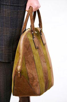 Fashion Week Handbags: Burberry Prorsum Fall 2012 - PurseBlog