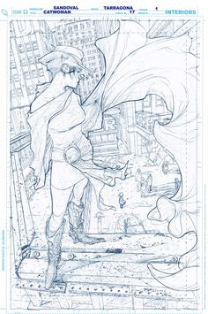Rafa Sandoval - Original Pencils for Catwoman Comic Book Layout, Comic Book Pages, Comic Book Artists, Comic Artist, Comic Books Art, Storyboard, Comic Book Drawing, Art Drawings, Drawing Sketches