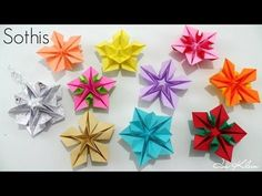 """Useful Origami Paper - """"Photo/Picture : Frame / Stand / Album"""" - YouTube"""