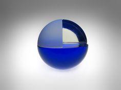 Sphere (blue) by Sauli Suomela