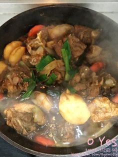 Cooking Whole Chicken Cooking Wine, Easy Cooking, Cooking Recipes, Cooking Pasta, Cooking Games, Korean Dishes, Korean Food, Easy Healthy Recipes, Asian Recipes