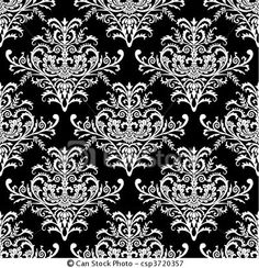 of Vector seamless baroque pattern - Baroque seamless pattern ...