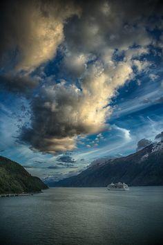 (via 500px / The Fjords of Alaska by Brent Morris)