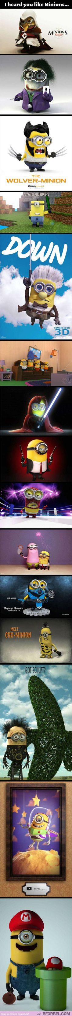 Minions Dressed As EVERYONE…