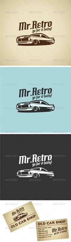 Retro Car V.1 Logo Template #GraphicRiver This time we proudly present a super super duper cool vintage logo..! Very high quality logo Best vintage feel Easy to customize Just need 1-2 color tone Simple and mature What will you get…? .AI . EPS .EPS Created: 13November12 GraphicsFilesIncluded: VectorEPS #AIIllustrator Layered: No MinimumAdobeCSVersion: CS Resolution: Resizable Tags: 70& #x27;s #80& #x27;s #best #classic #classsiccar #free #goodlogo #old #oldcar #oldschool #retro #retrocar…