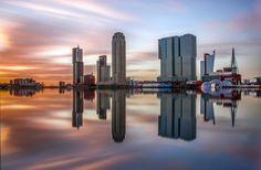 Rijnhaven reflecties - Rotterdam