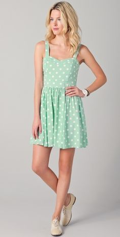 we have a couple cute polka dot styles like this coming to LUX