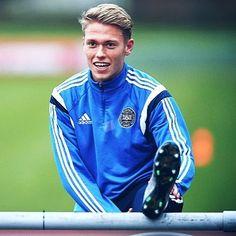Viktor at the Danish national team