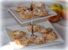 Haferflocken- Apfelzimt- Cookies
