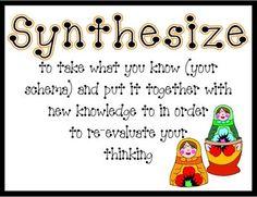 synthesize