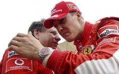 Le message d'espoir de Jean Todt sur Michael Schumacher: «Il se bat toujours et on doit se battre pour lui» -                  Cela fait bientôt deux ans que l'ancien champion du monde Formule 1 Michael Schumacher est tombé dans le coma après un tragique accident de ski le 29 décembre 2013 dans les Alpes françaises. Selon son ancien manager chez Ferrari et désormais président de la FIA Jean Todt, «Schumi» &
