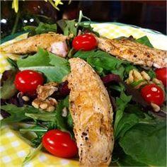 Wonderful Raspberry Walnut Dinner Salad - Allrecipes.com