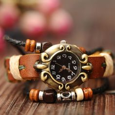 Retro National Style Bracelet Watch only $22.9 in ByGoods.com