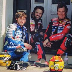 Chill time of the Greats ! Guy Martin, Honda S, Super Bikes, Isle Of Man, Road Racing, Motogp, Guys, Legends, People