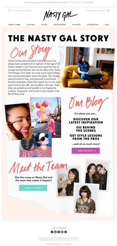NastyGal | welcome | WelcomeEmails | emailmarketing | email | newsletter…