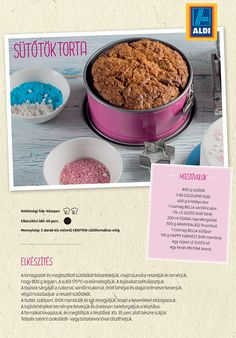Sütőtök torta recept az ALDI-tól Izu, Dog Bowls, Dog Food Recipes, Cereal, Breakfast, Morning Coffee, Dog Recipes, Breakfast Cereal, Corn Flakes