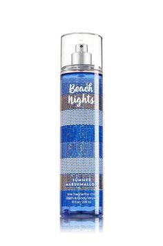 Beach Nights - Summer Marshmallow Fine Fragrance Mist - Signature Collection - Bath & Body Works