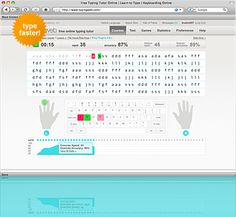 TypingWeb is a free online typing tutor & keyboarding tutorial for typists of all skill levels. TypingWeb includes entertaining typing games, typing tests, and free official typing certification.