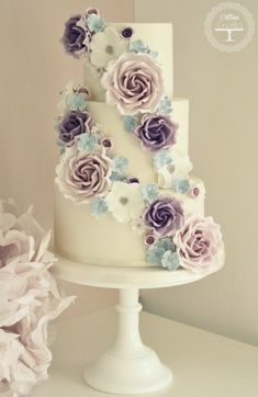 Wedding Cakes With Exceptional Details: http://www.modwedding.com/2014/06/20/wedding-cakes-exceptional-details/ #wedding #weddings #wedding_cake