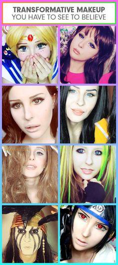 Makeup Artist Anastasiya Shpagina, Master of Transformation