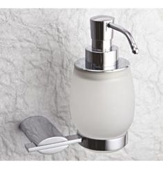 Perk Altair Liquid Soap Dispenser Of 155 x 134 x 130 MM In Chrome Finish Soap Dispensers, Liquid Soap, Chrome Finish, Basin