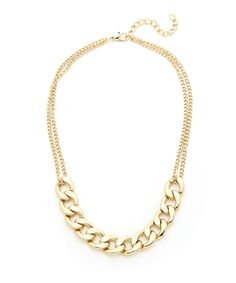 All About Chains Necklace #shoplately