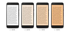 Google Play Books new blue light filter reduces eye strain Google's usage research indicates that most of us do a majority of our reading between 8 and 10 pm -- you know right before bed. But doing so in a dimly-lit bedroom can wreak havoc on your eyes not to mention your circadian rhythm. That's why Google's newest update to its Play Books app includes a new feature called Night Light.  It gradually replaces the amount of bright blue light emanating from your screen with warmer yellow tones…