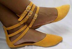Sapatilha Tiras Fivela no site www.ShopShoes.com.br