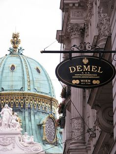 Cafe Demel Vienna.  Our tips for things to do in Vienna: http://www.europealacarte.co.uk/blog/2010/07/28/the-best-of-vienna-travel-tips/