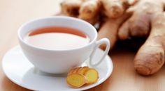 Receita de chá de gengibre para emagrecer..