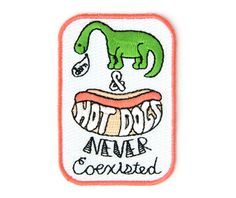 Image of Dino Hot Dog Patch