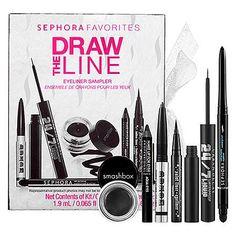 Sephora: Draw The Line Eyeliner Sampler : eye-sets-palettes-eyes-makeup