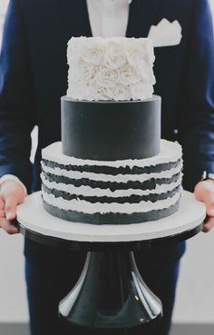Gorgeous Wedding Cake Ideas from Winifred Kriste Cake