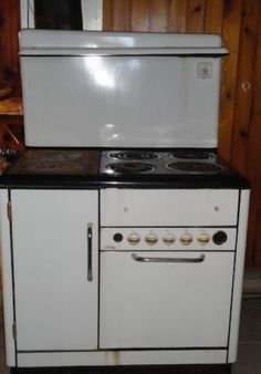 L Amp H Wood Burning Amp Electric Cook Stove Vintage Antique