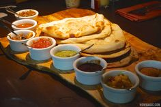 Indian-style Bread Service