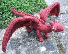 Amigurumi dragon!