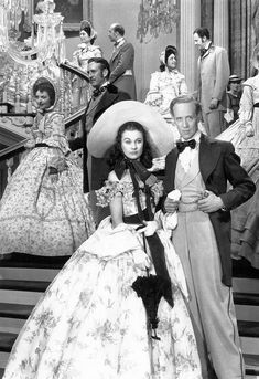 Vivien Leigh & Leslie Howard ~ Gone with the Wind, 1939
