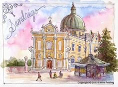 Everyday Artist: Sketchbook Journeys: Italy - Day 3 (Sandrigo)