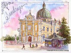 Everyday Artist: Sketchbook Journeys: Italy - Day 3 (Sandrigo)