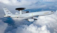 One of French Armée de l'Air's 4 Boeing E-3F Sentry AWACs aircraft. Two are to undergo major overhauls at Air France Industries new maintenance facilities at Roissy (Charles de Gaulle) Airport,Paris, & upgrade to new standard.