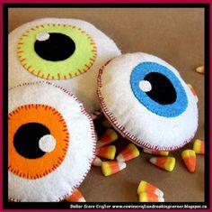 Dollar Store Crafter: Halloween Eyeball Softie