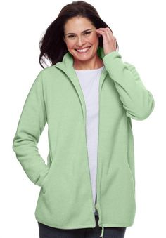 Plus Size Fleece Coats - Coat Nj