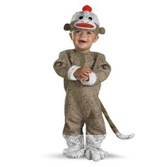 Truly one of the cutest costumes out there, this Sock Monkey costume ($41) is sure to get plenty of oohs and ahhs.
